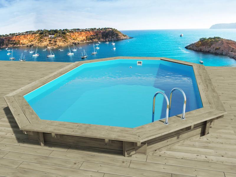 Piscine bois miami x x m vente de for Accessoire piscine bois