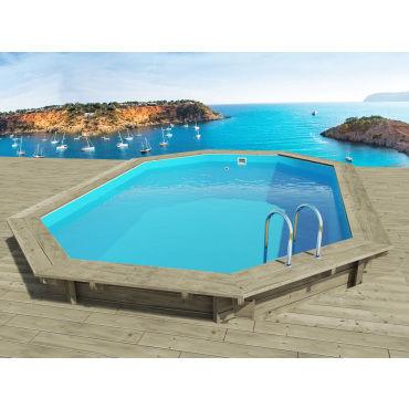 piscine bois miami x x m vente de. Black Bedroom Furniture Sets. Home Design Ideas