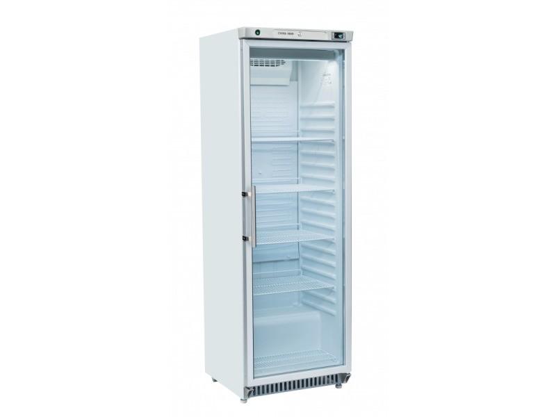 Armoire réfrigérée positive porte vitrée - 400 litres - cool head - r600a 1 porte vitrée