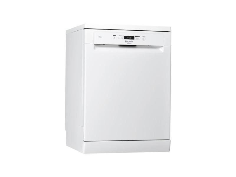Lave-vaisselle pose libre hotpoint 14 couverts moteur induction 60cm, hothfc3c26f HOTHFC3C26F