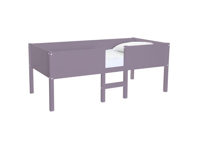 Lit mezzanine fille conforama maison achat meuble literie lit enfant mezzani - Lit electrique conforama ...