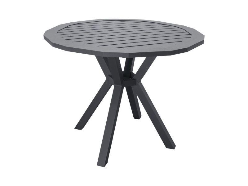 Table de jardin en aluminium ayma 110 cm