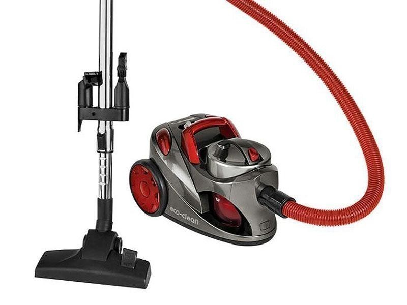 Aspirateur de sol eco-clean 700w bs 1294 clatronic rouge