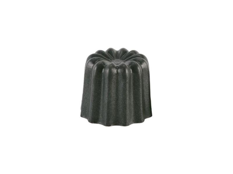 6 moules a cannelés en aluminium revetu - 35 mm PAT3760017430180