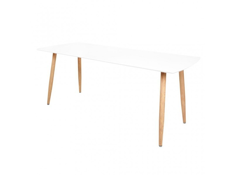Zoli99 Table 410868 Extensible Vente com De Stockholm Blanche Yv6ymb7Ifg