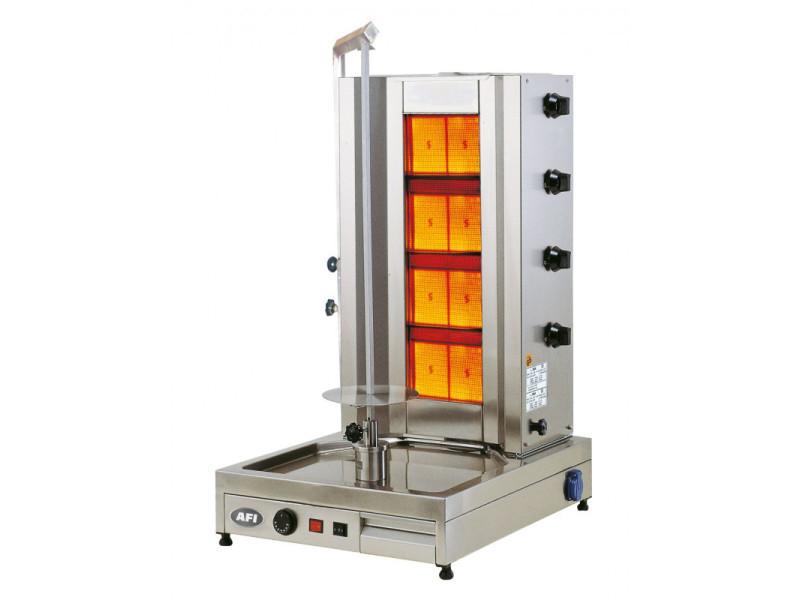 Döner grill gaz capacité 90 kg - afi collin lucy -