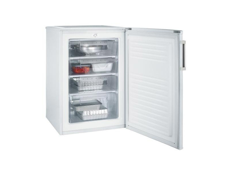 Confort freezer poig métal 85x55x58cm blanc 82l a+ 43db 4 tiroir candy - cctus542wh CCTUS542WH