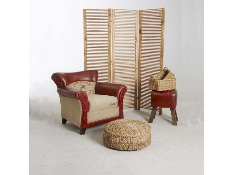 paravent d 39 int rieur acacia vente de aubry gaspard conforama. Black Bedroom Furniture Sets. Home Design Ideas