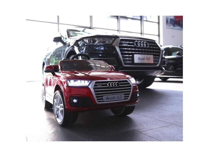 Voiture quad électrique enfant nouvelle audi q7 roues gomme 12v rouge  peinte version luxe Q7 rouge peinte -b - Vente de AUDI - Conforama 8b2149caf2fe