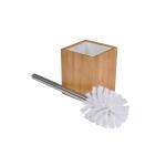 Brosse wc carré en bambou