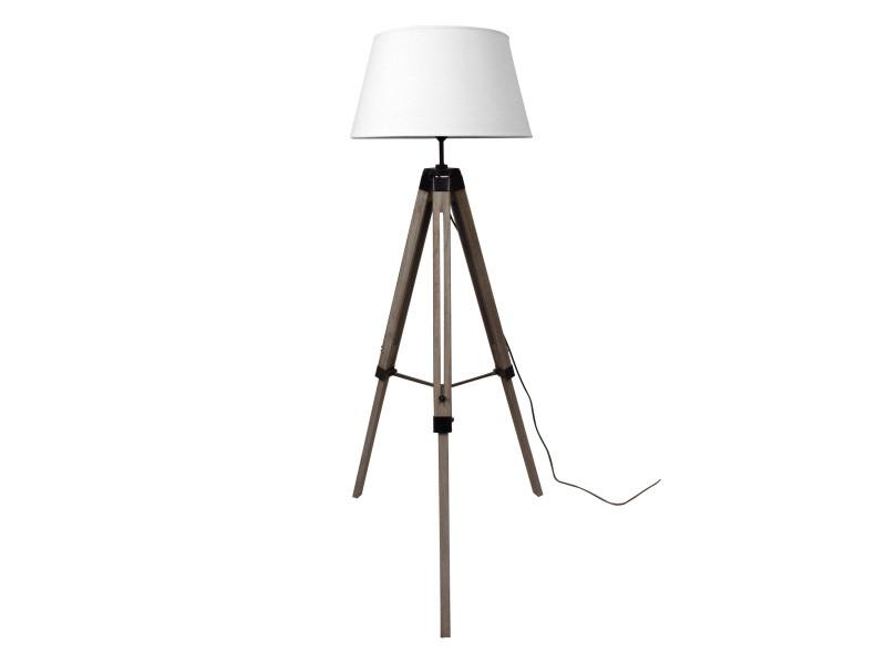 lampadaire trepied marine blanc vente de lampadaire conforama. Black Bedroom Furniture Sets. Home Design Ideas