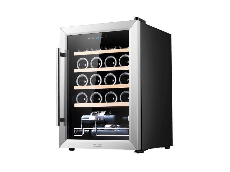 Cave à vin, cecotec, grandsommelier 20000 inox compresseur