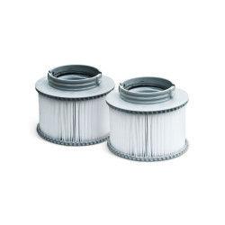 Pack de 2 filtres pour spa camaro, super camaro, alpine 4 et 6, silver cloud 4 et 6 et bliss 6, 2 cartouches de remplacement