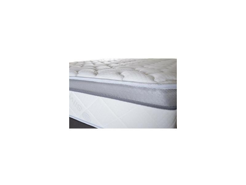 matelas aura 140x190 m moire de forme 26 cm vente de olympe literie conforama. Black Bedroom Furniture Sets. Home Design Ideas