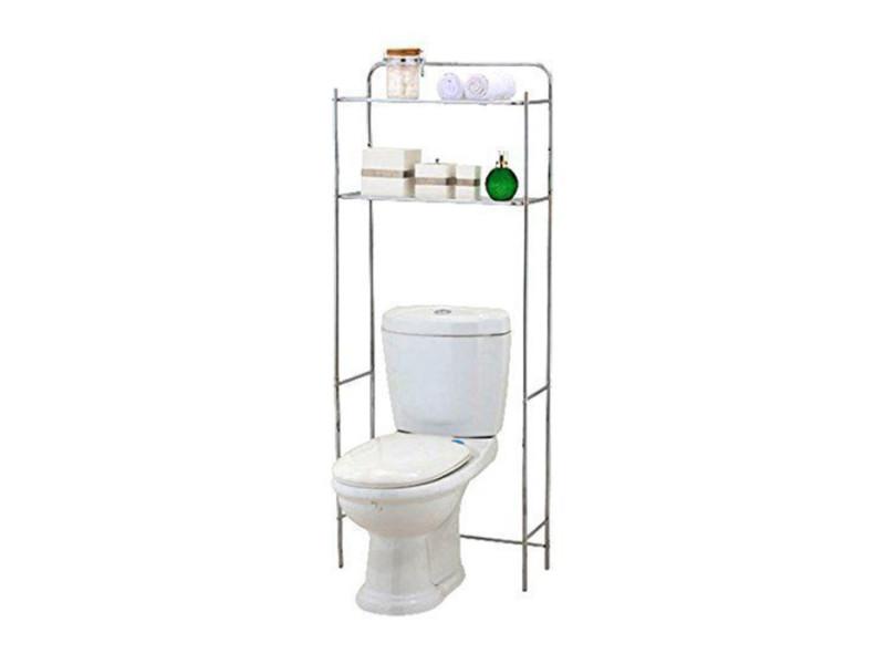 meuble de toilette chrom