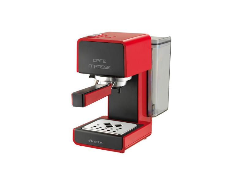 Machine à café caffe matisse ariete - modèle 1363 - rouge 1363R