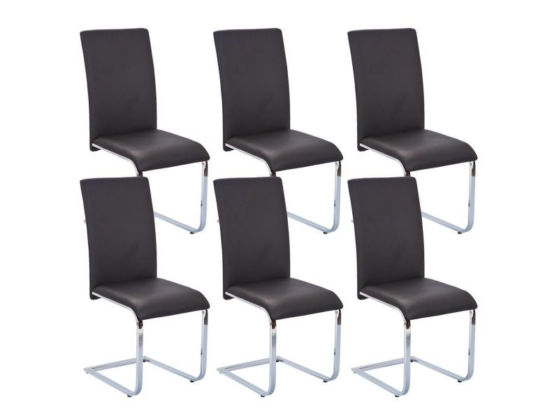 lot 6 chaises conforama