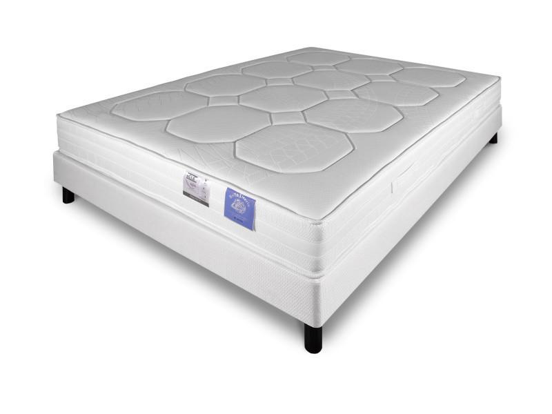 ensemble 160x200 matelas sommier mousse benflex hr 45 kg m ensemble nikita mousse hr45 367362. Black Bedroom Furniture Sets. Home Design Ideas