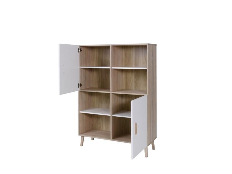Ensemble Design Pour Votre Salon Oslo Bibliotheque Meuble