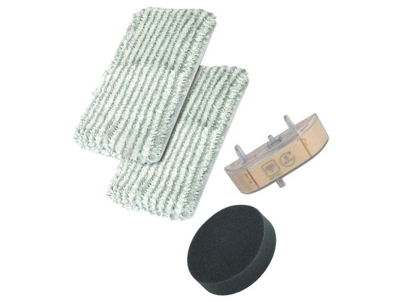 Kit lingettes + filtre + cassette clean & steam aspirateur rowenta zr005801