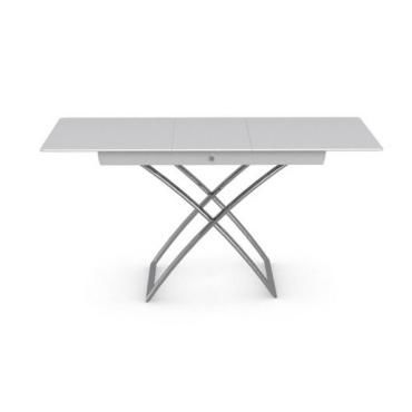 Table basse relevable extensible italienne magic j glass - Table basse relevable extensible conforama ...
