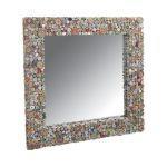 Grand miroir en papier recyclé grand modèle