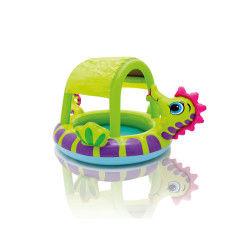 Piscine pour enfants hippocampe avec pare-soleil
