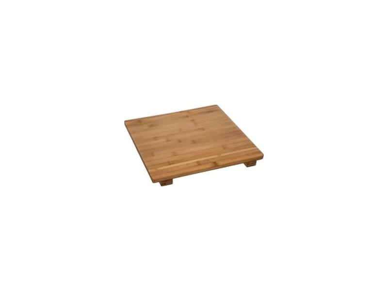 Planche à découper carrée - 38 x 38 cm - bambou