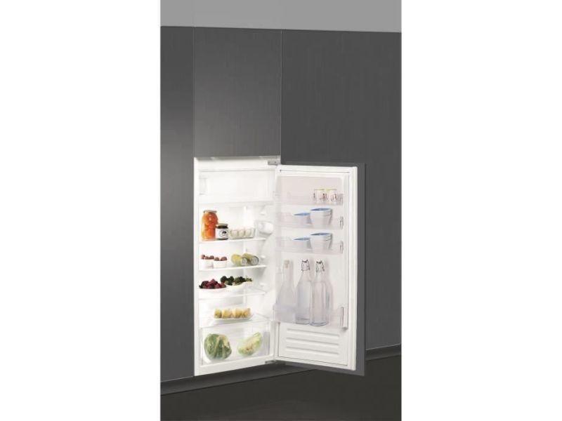 Réfrigérateur combiné 189 litresl froid statique indesit 54 cmcm, ind8050147607404 IND8050147607404
