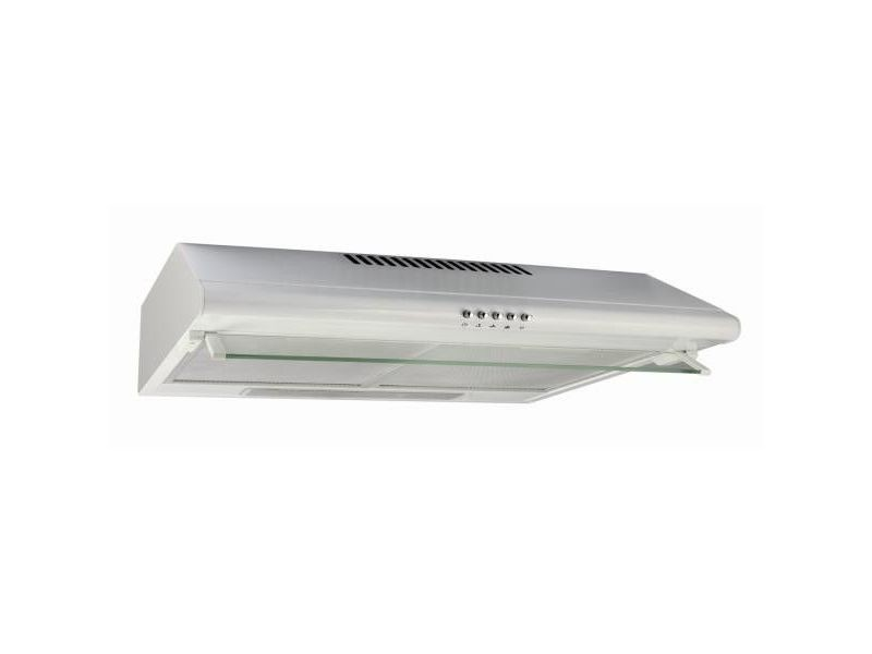 Hotte visière 250m³/h glem 60cm, ghc625wh CDP-GHC625WH