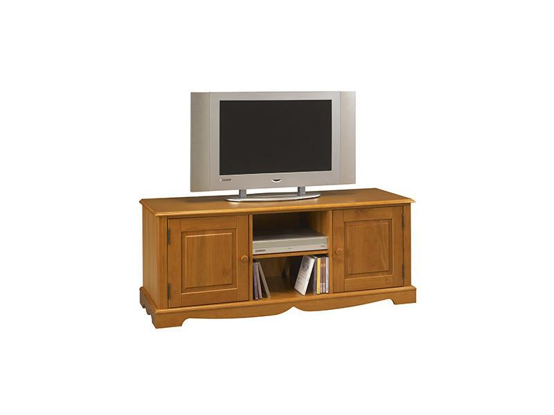 Meuble tv pin miel de style anglais vente de meuble tv Meuble tv style anglais