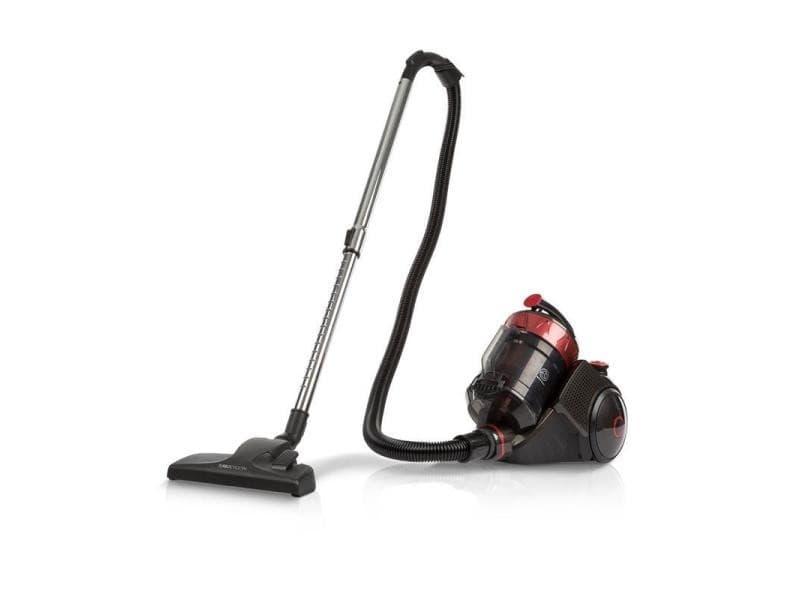 Oneconcept clean master aspirateur cyclone filtre hepa13 700w classe a - rouge