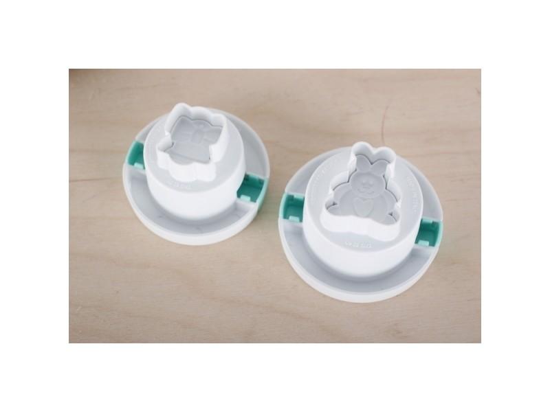 2 emporte pièces pâques silikomart