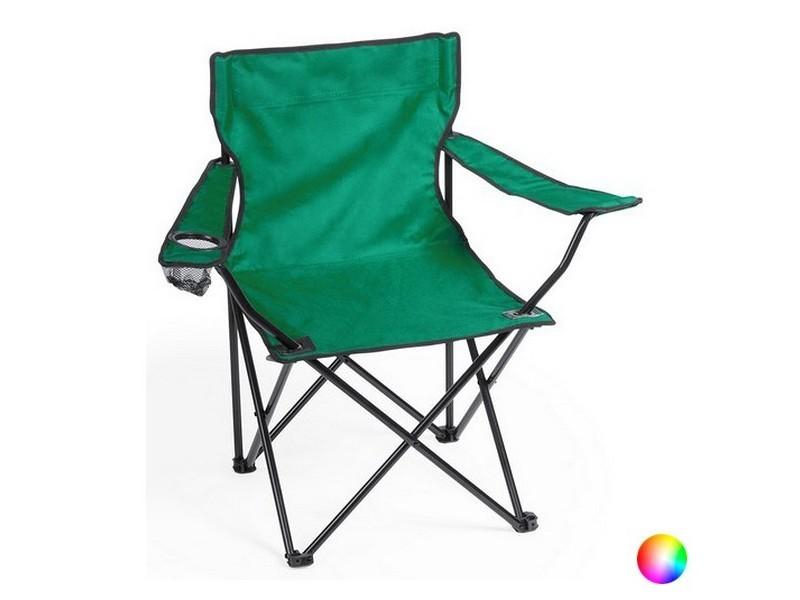 Chaise à accoudoirs pliable avec étui - chaise de voyage couleur - rouge
