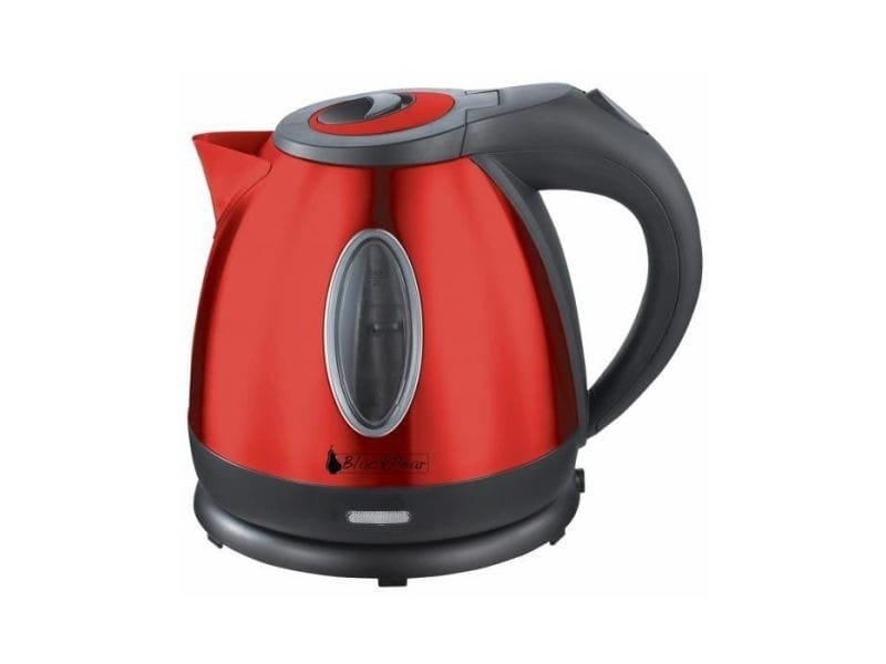 Blackpear bouilloire sans fil inox 1.2l - rouge BLA3700659314998