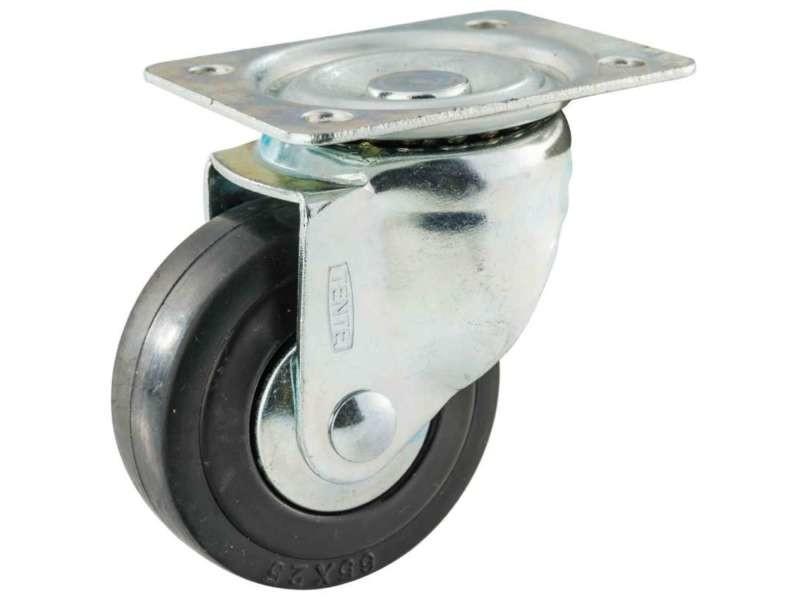 Roulette pivotante 65 mm tente