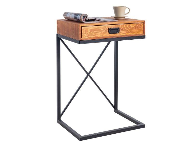 Bout de canapé ignacio table d\u0027appoint table à café de salon