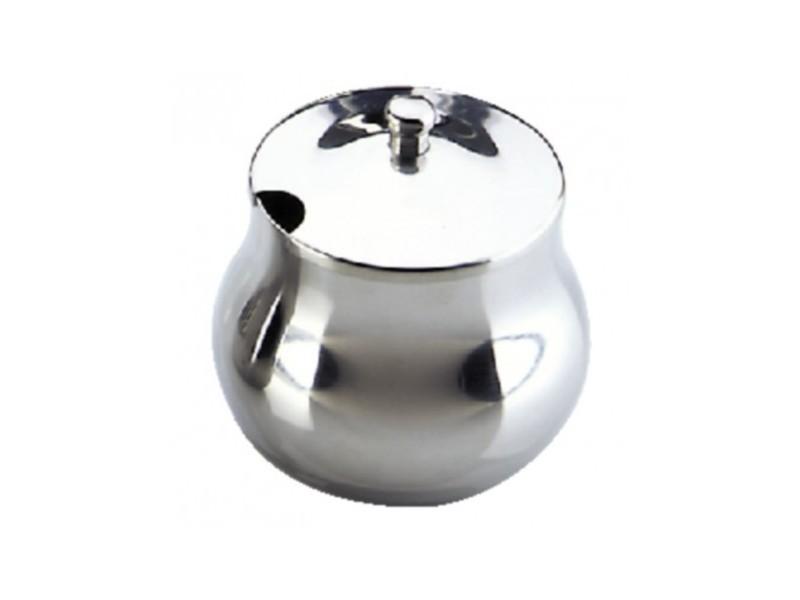 Sucrier inox poli marocain 350 ml - olympia - 0 cm inox 35 cl