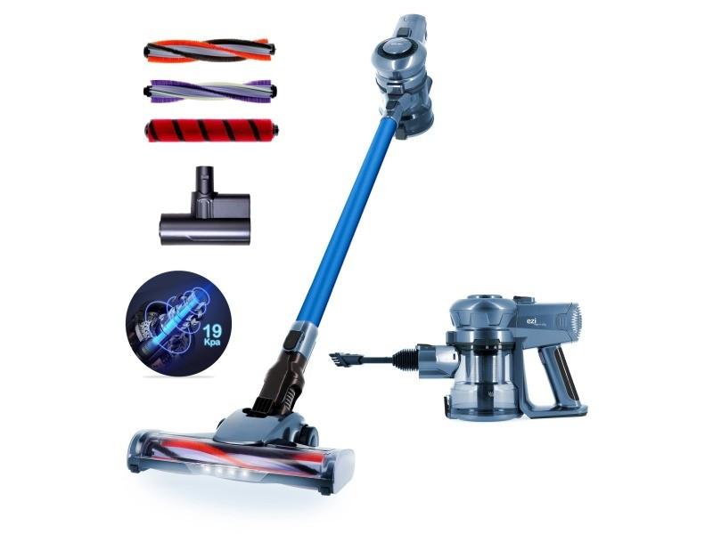 Aspirateur sans fil eziclean® cyclomax ultimate xpert edition blue