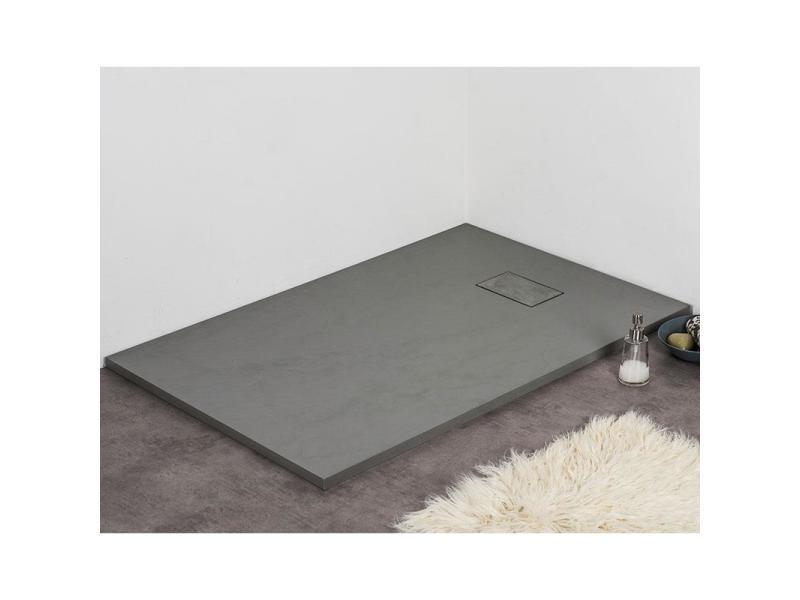receveur de douche 70 x 120 cm extra plat piatto en solicast surface ardois e rectangulaire. Black Bedroom Furniture Sets. Home Design Ideas