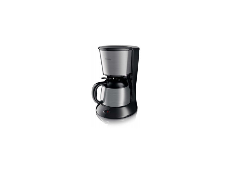 Philips cafetière isotherme 10 - 12 tasses daily collection noir / inox hd7478-20