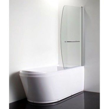 Pare baignoire gandia 90 140 cm vente de azura home design conforama - Pare douche baignoire angle ...