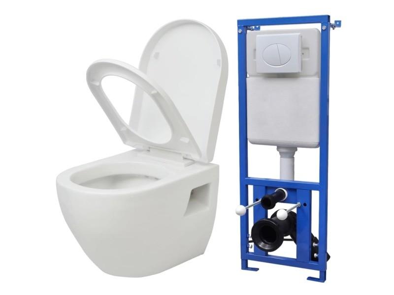 Toilettes et bidets serie banjul toilette suspendue au mur ...