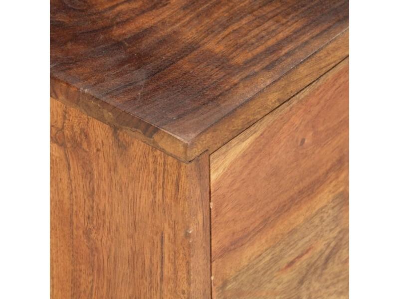 Vidaxl table basse 90x55x40 cm bois d'acacia massif 285870