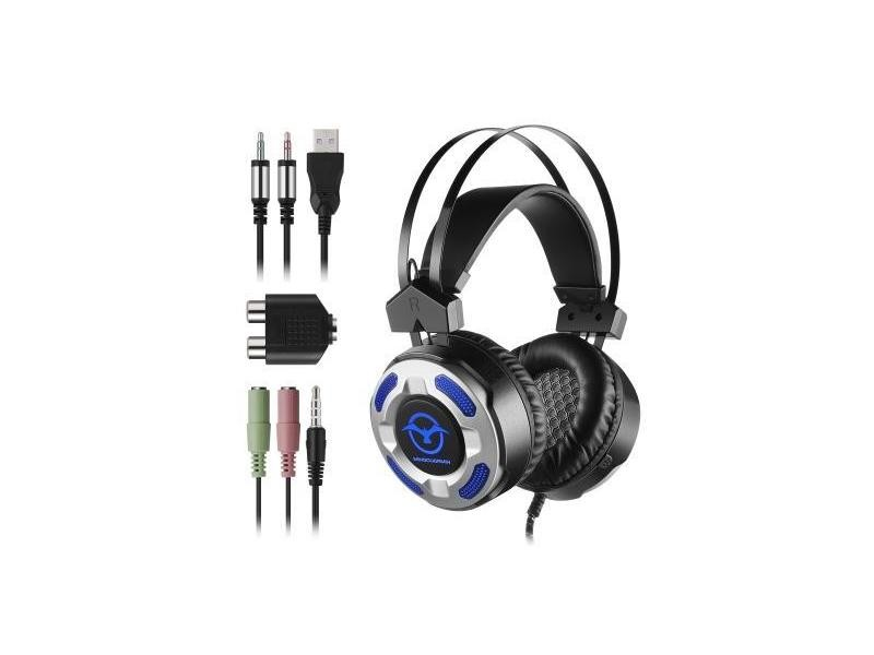 Casque Ecouteur Gaming Headset Gaming Headphone With Led Lights