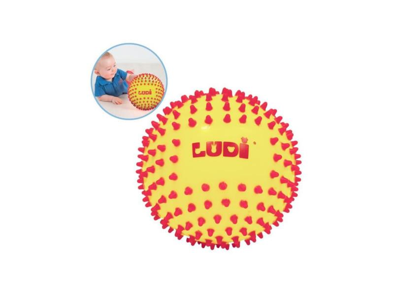 Balle sensorielle bicolore - diametre 15 cm JBM30018