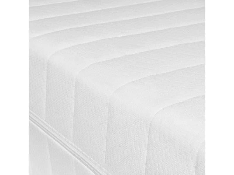 Matelas 90 x 200 cm matelas housse lavable hypoallergénique réversible sommeil réparateur matelas pas cher, épaisseur 15 cm MISTER SANDMAN