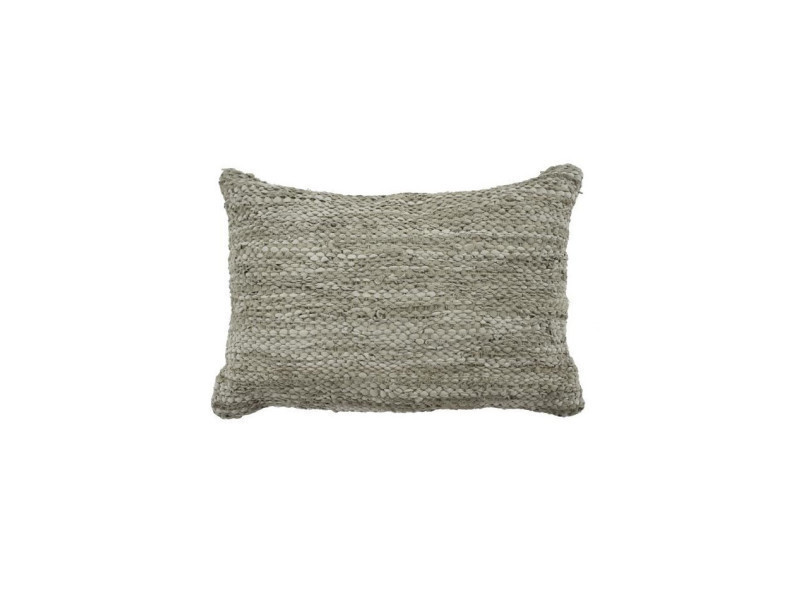 Coussin skin - 40 x 60 cm - beige taupe