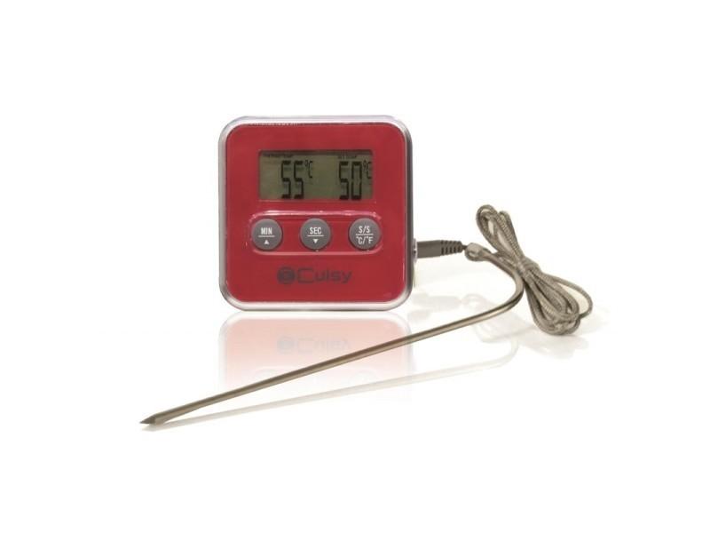 Thermomètre à sonde + minuteur - thermosonde