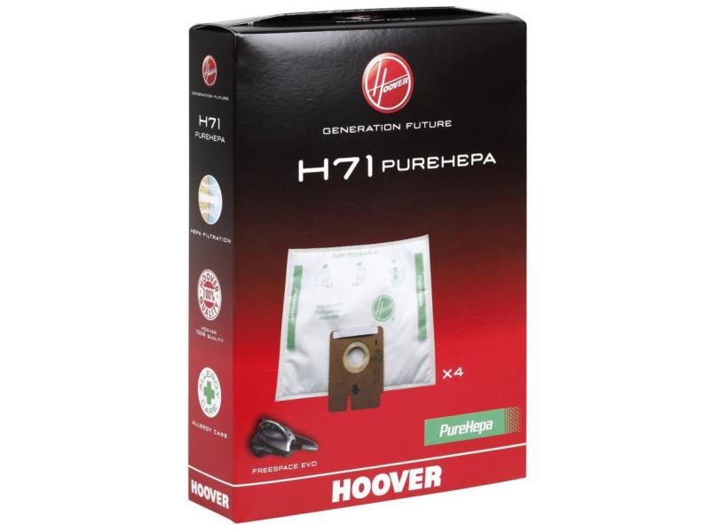 Sacs aspirateur et filtres hoover h 71 x 4 evo